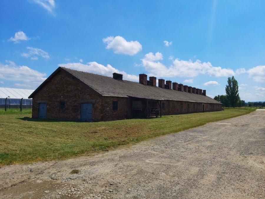 Uno de los barracones de Birkenau.