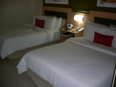 As duas camas de casal