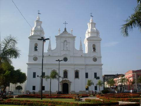 Igreja da Sé, de onde sai o Círio.