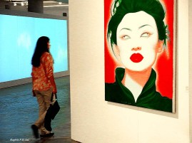 Óleo sobre tela de Feng Zhengjie