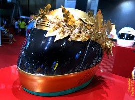 Salão Automoveis 2014 homenagem Ayrton Senna capacete Bethy Lagardere (14)
