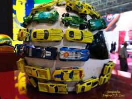 Salão Automoveis 2014 homenagem Ayrton Senna capacete Felipe Andreoli (01.2)