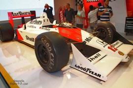 Salão Automovel 2014 carros competição McLaren MP4.8 1993 (02)