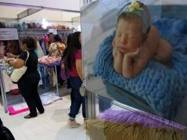 Os estandes de newborn (recém-nascidos)