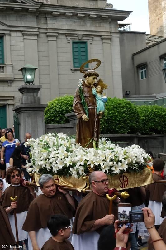 Em Macau, a procissão de Santo António ainda preservada