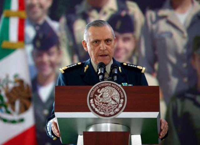 Estados Unidos se reserva el derecho de procesar al general mexicano Cienfuegos
