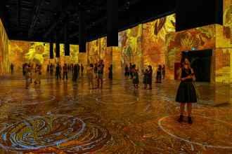 Immersive Van Gogh en San Francisco