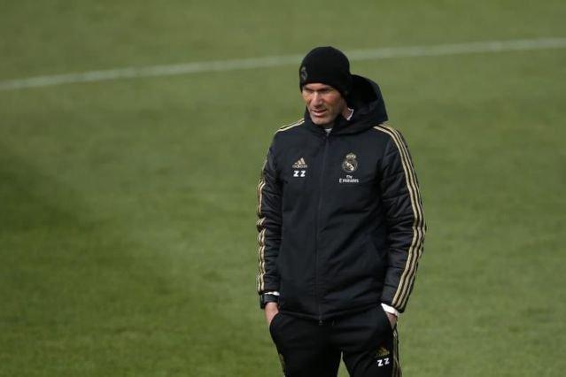 Zidane se reincorpora a los entrenamientos del Real Madrid deportes fútbol