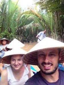 Navegando Delta Mekong, Vietnam