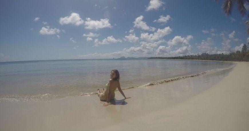 Playa de Las Salinas, una de las mejores playas que ver en Martinica
