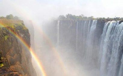 Cataratas Victoria arcoiris
