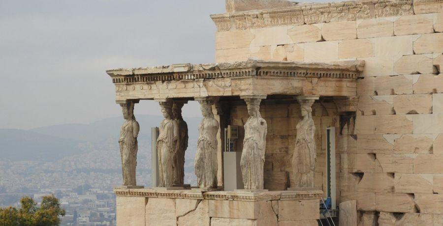 Cariatides Atenas