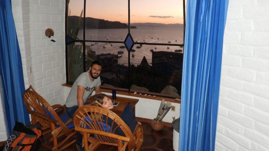 Ecolodge Las Olas en Copacabana, el más caro de nuestro presupuesto para viajar a Bolivia