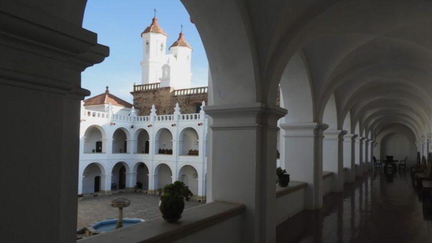 Convento San Felipe Neri en nuestro viaje a Sucre