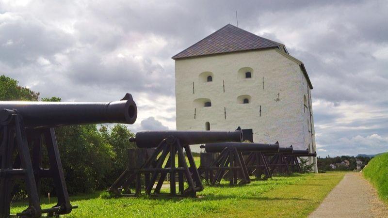 Fortaleza de Kristiansten trondheim