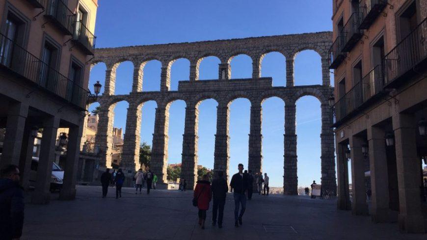 Plaza del Azoguejo Segovia