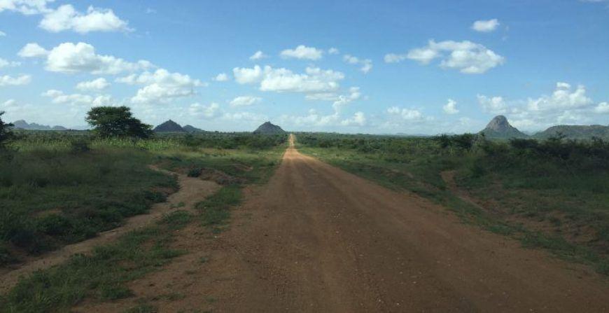 Carretera Karamoja, Uganda