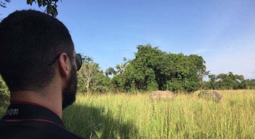 Rinoceronte Ziwa, Uganda