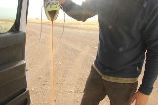 Arena que cae de la zapatilla, visita al desierto de Namib