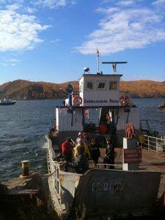 Ferry Lago Baikal
