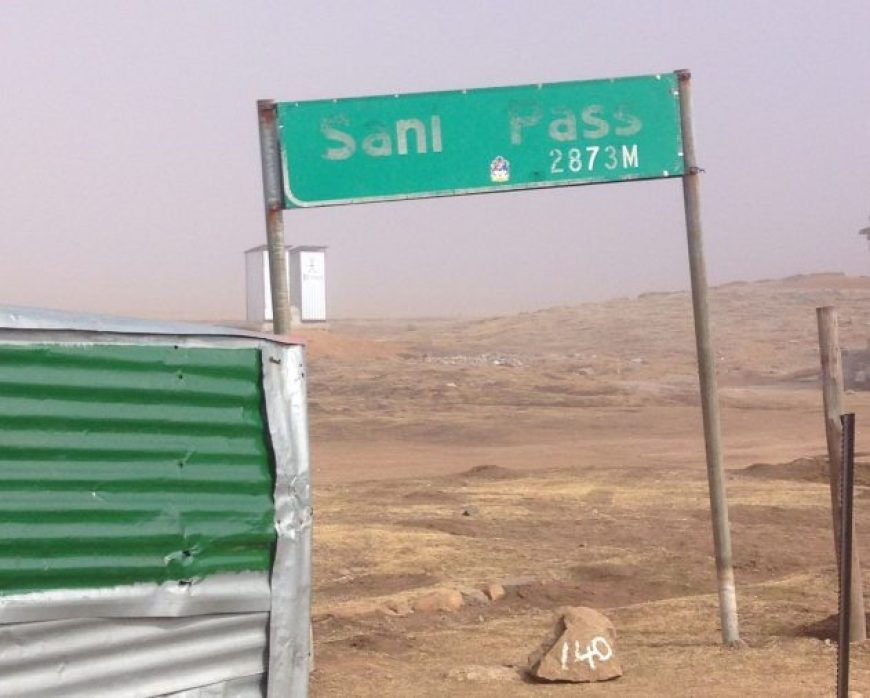 Cartel Sani Pass, Lesotho