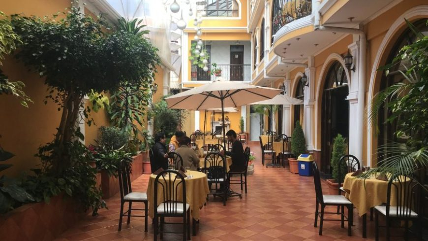 La Fontana - dónde comer en Sucre