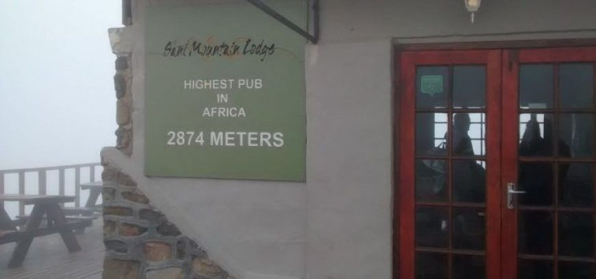 Highest pub Africa, Lesotho