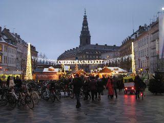 Mercado navideño Copenhague