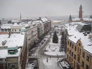 Helsinborg, Vistas desde el Karnän