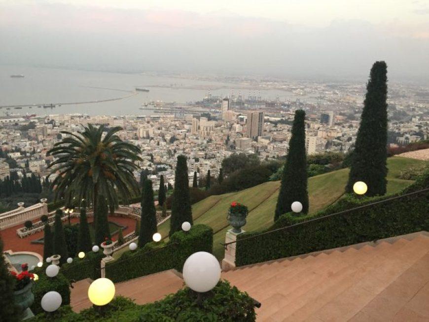 Jardines Bahai, Haifa Israel