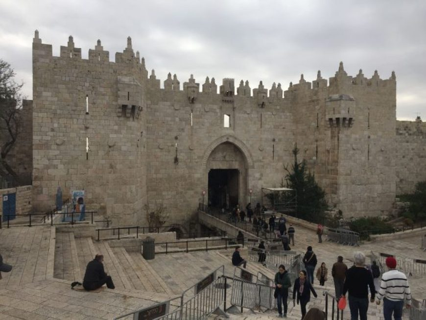 Puerta Damasco, Jerusalen