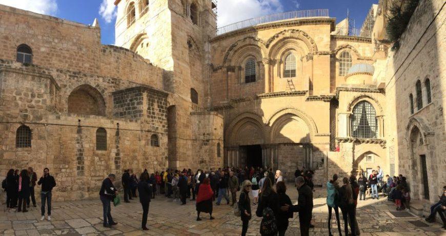 Basílica Santo Sepulcro, Jerusalen
