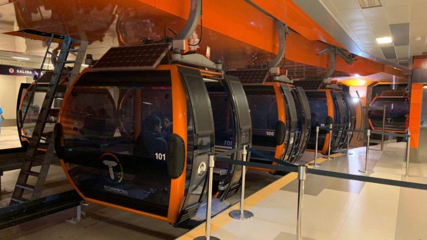 Línea naranja Teleférico La Paz