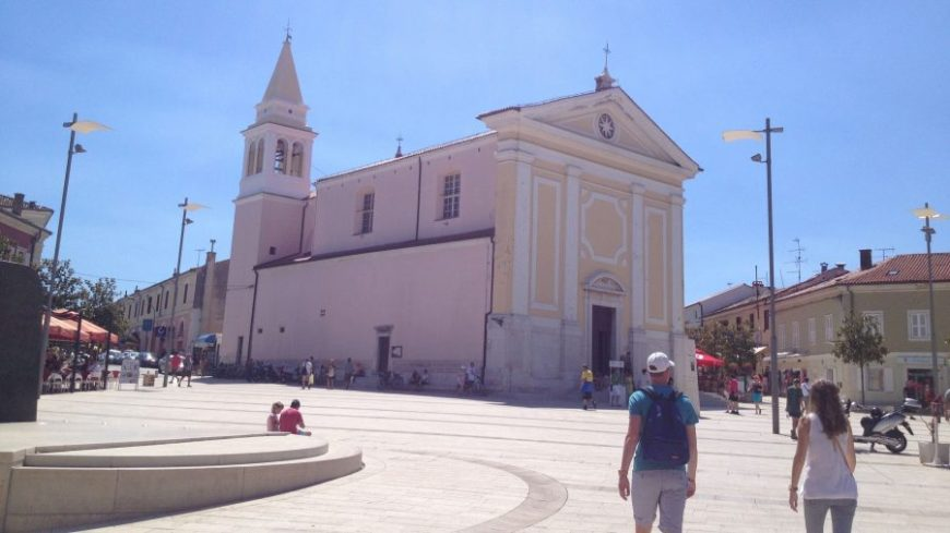 Catedral de Porec, una de las más bonitas que ver en Istria