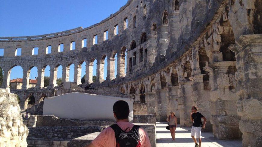 Anfiteatro romano Pula, un lugar icónico que ver en Istria