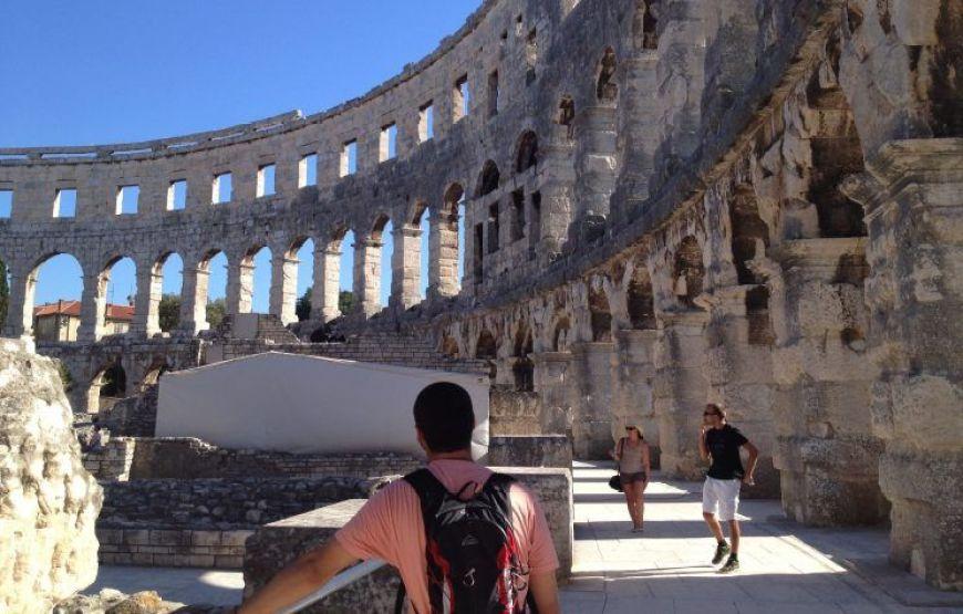 Anfiteatro de Pula, uno de los imprescindibles que ver en Croacia
