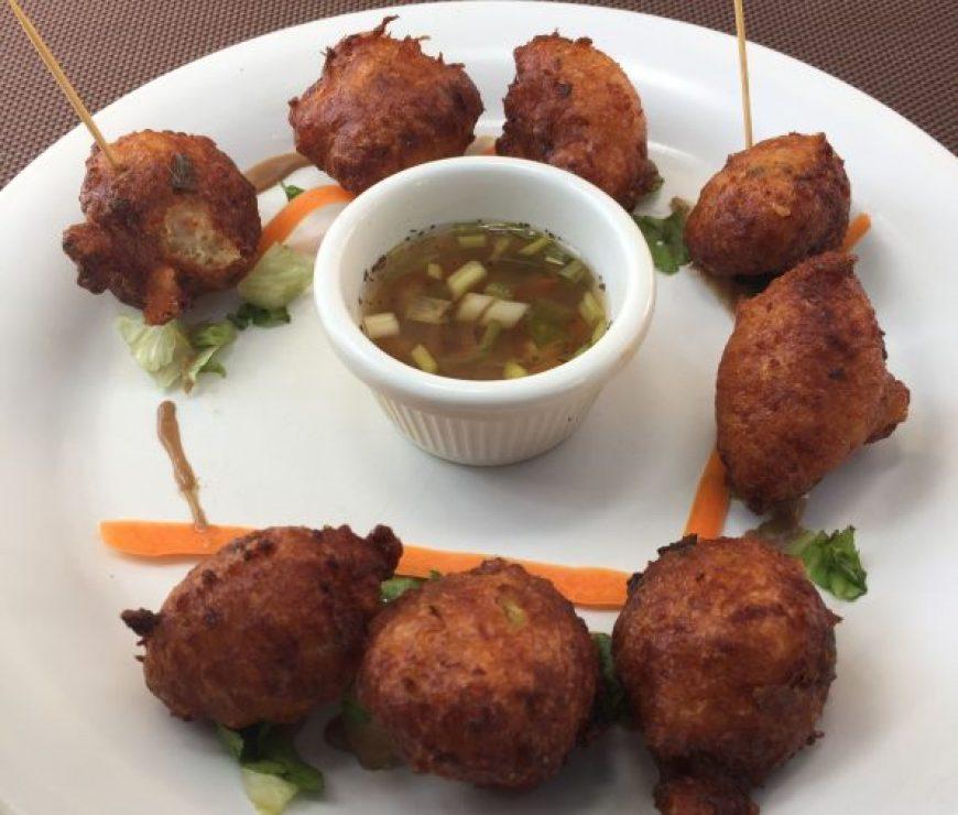 Accras, uno de los platos típicos de Martinica