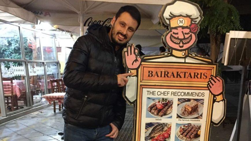 Bairaktaris, uno de los mejores restaurantes en Atenas