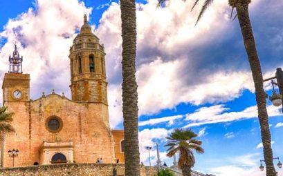 Sitges Iglesia San Bartolomé y Santa Tecla