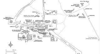 Mapa de http://www.parque-tikal.com