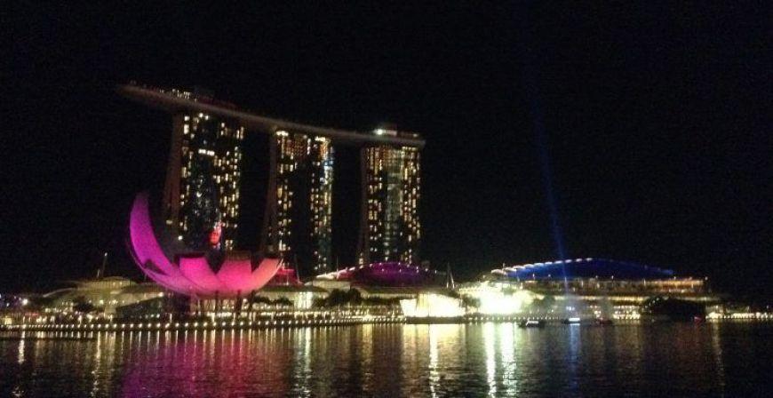 Marina Bay, uno de los imprescindibles de un viaje a Singapur