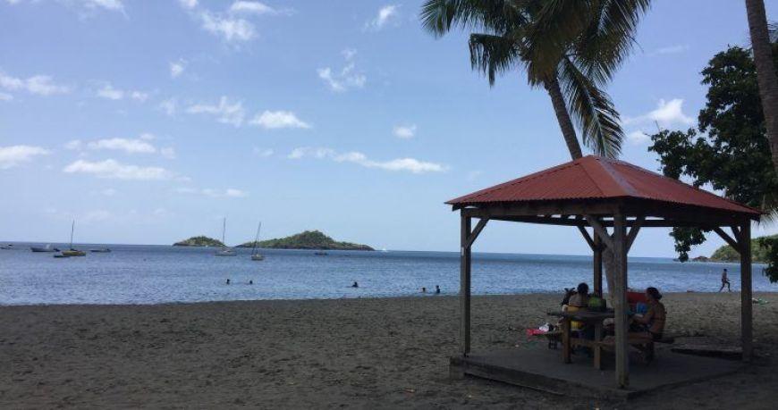 Plage de la Malendure, una de las mejores playas de Guadalupe