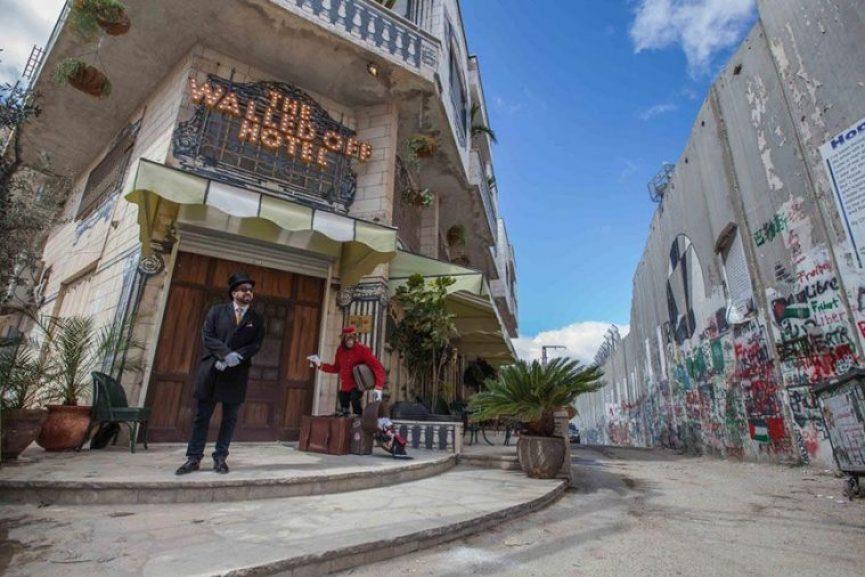 The-Walled-Off-Hotel, el hotel con la peor vista del mundo