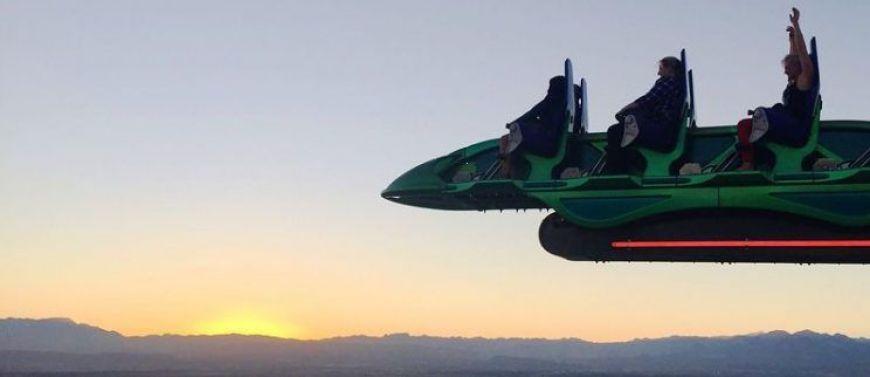 Subirse al XCream del Stratosphere, una de las mejores cosas que ver y hacer en Las Vegas