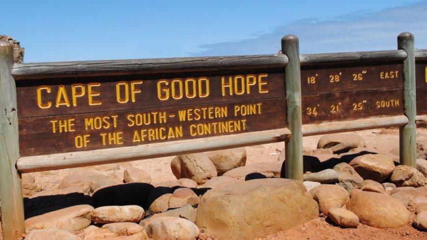 Cabo de Buena Esperanza en Sudáfrica