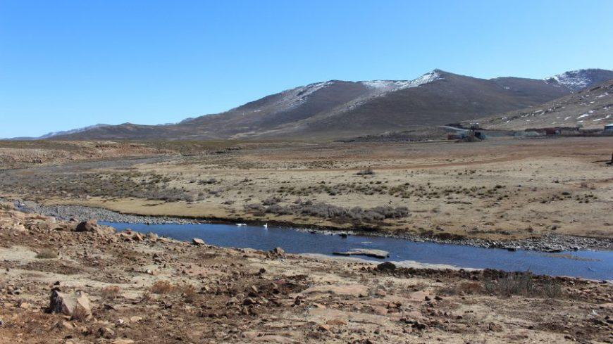 Lesoto paisaje