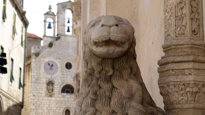 Portal del León en Sibenik