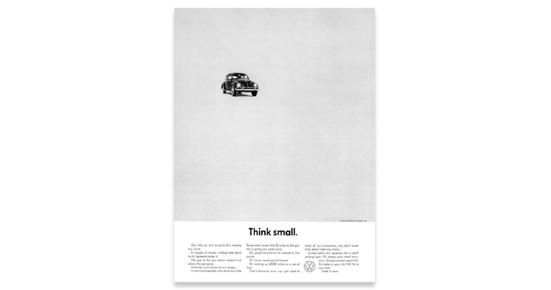 Cronin-Creative-Clarity-By-Design-George-Lois-Think-Small