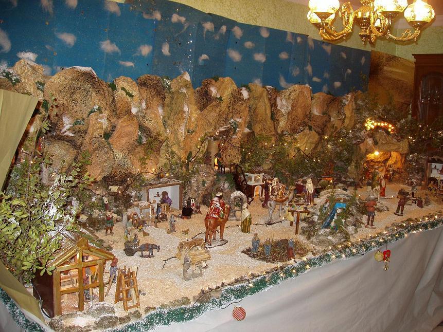 Navidad en espa a costumbres y tradiciones pequentornoinfantil - Portales de belen originales ...