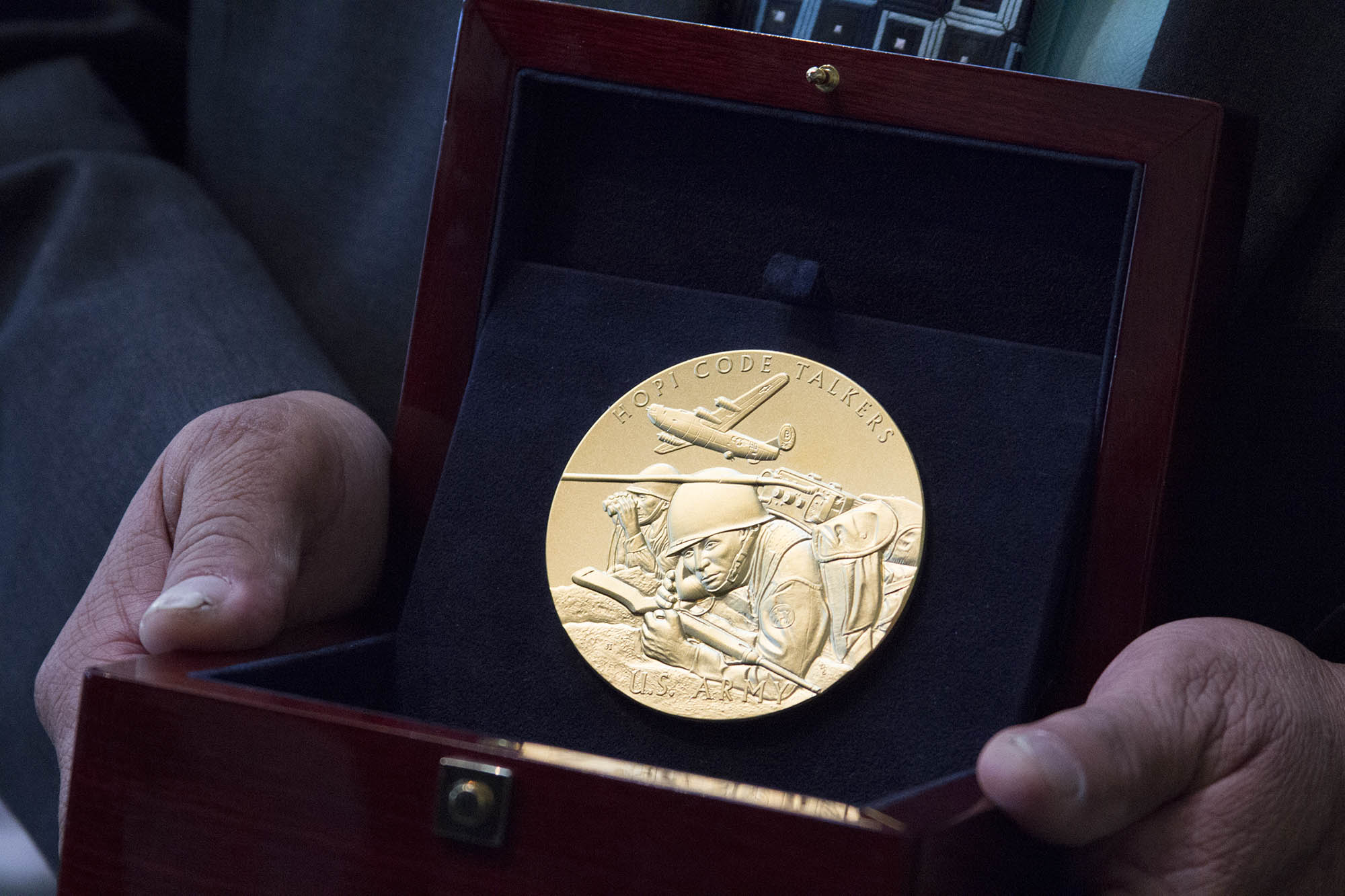 Native American Code Talkers Get Congressional Gold Medals